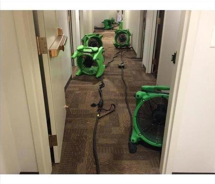 Commercial Water Damage – Kailua Office Building