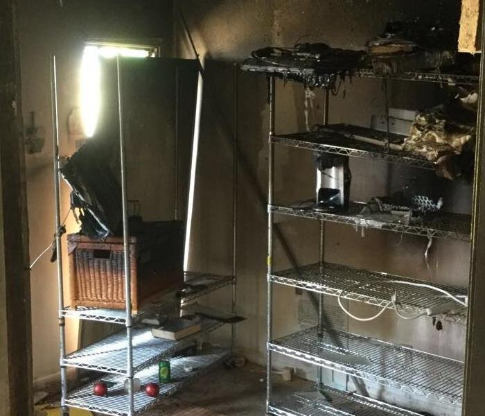 Fire caused by Electronic Device
