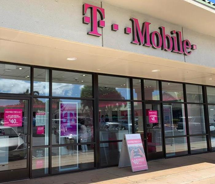 The outside of T-Mobile store
